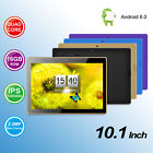 NEW 10.1'' Tablet PC Android 6.0 Quad Core HD Dual Camera WiFi With Earphone Etc