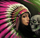 Instant Death Kiss by Muecke Canvas or Paper Rolled Art Print
