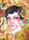 Belladonna by Cambria Canvas or Paper Rolled Art Print