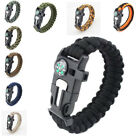 Rope Bracelets Camping Para cord Survival Kit Hiking Traveling Hunting Outdoor