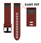 Fashion Replacement Silicagel Quick Release Kit Band Strap For Garmin Fenix 5X