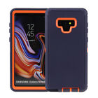 For Samsung Galaxy Note 9 Case Rugged Cover &quot;Belt Clip Fits Otterbox Defender&quot; <br/> CASE COVER FULL TEMPERED GLASS PROTECTOR OPTION