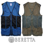Beretta Shooting Mesh Vest Trap Clay Skeet Shooting Vest Blue / Dark Olive GT581