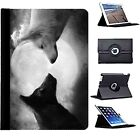 Wolf Moon Wild Howling Wolves Rotate Case Cover for iPad 2 3 4 Air Mini Pro