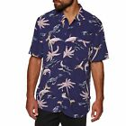 Swell Key West Party Mens Shirt Short Sleeve - Pink All Sizes