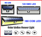 RELIGHTABLE Solar Powered 46 / 86 / 164 LEDs 3D Wide Angle Motion Sensor Light