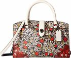 New Coach Women Mercer 24 Leather Satchel Bags Variety Colors Msrp $350.00