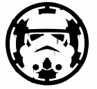 "Star-Wars-Storm-Trooper-over-Empire Vinyl STICKER DECAL  ""Buy 2 get 1 Free"" $16.99 USD on eBay"