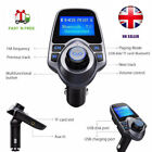 T11 FM Transmitter,[Update Version]Bluetooth MP3 Player with Dual USB for iphone