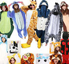 Unisex Adult  Kigurumi Cosplay Animal Costume Pajamas Onesie17 Sleepwear Outfit.