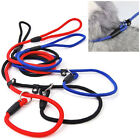 Pet Dog Nylon Training Leash Slip Lead Strap Adjustable Traction Collar Newly