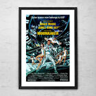 Moonraker 'James Bond' - Classic Action Cult Movie Poster Print - 1979 $19.99 AUD on eBay