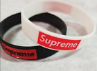 Supreme Silicone Rubber Bracelet Wristband US Seller Fast Shipping