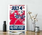 WW1+US+Propaganda+Poster+-+Uncle+Sam%27s+Birthday%2C+Independence+Day%2C+Uncle+Sam
