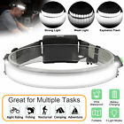 Battery LED Headlamp Headlights Torch Flashlight Work Light Bar Head Band Lamp