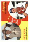 2008 Topps Heritage High Numbers Then and Now Baseball Cards (Pick Your Players)