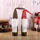 Внешний вид - Red Christmas Gnome Tomte Santa Wine Bottle Bag Cover Dinner Party Table Pro