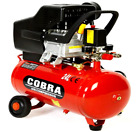 Air Compressor 24L Litre 2.5HP 8 BAR 9.6CFM With Wheel 5PCS Kits Air tool Kit <br/> 12 MONTHS WARRANTY FULL SPARES &amp; SERVICE BACKUP