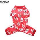 Christmas Snowman Deer Pet Dog Puppy Apparel Costume Autumn Clothes Supply Newly