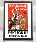 WWI+American+Liberty+Bonds+Propaganda+Poster+-+Fight+for+It%21%2C+War+Bond+Poster