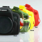 Camera Soft Silicone Rubber Protector Skin Case for Canon Eos Rebel T6i 750D