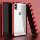 For iPhone XS Max 6.5 Inch Case Shockproof Frame Bumper Clear TPU Back Cover