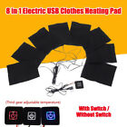 USB Electric Clothes Heater Sheet Adjustable Winter Heating