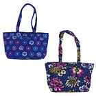 Vera Bradley Mandy Tote Womens Shoulder Bag Purse Quilted Patterns Carry On Nwt