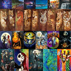 Full Drill 5D DIY Diamond Painting Animal Cross Stitch Kit Home Decor with Tools