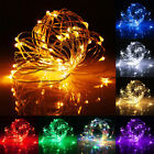 20/30/40/50 LEDs Battery USB Operated Mini LED Copper Wire String Fairy Lights