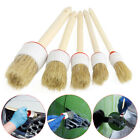 Soft Wood Handle Paint Car Wash Detailing Brush Clean For Auto Seat Wheel Door