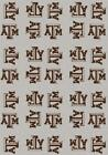 Texas A&M Aggies Rug Logo Repeat Mat