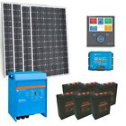 Victron Powered Off Grid Solar Kit - 3kW PV Array | 11.5kW/h Lead Carbon Batt...