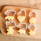 Bear Elephant Hippo Heart Shape Biscuit Cookie Cutter for Baking Pastry Tool YHÑ