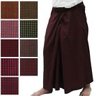 Mens Burmese Pants Paso Myanmar Longyi Traditional Dress Made in Myanmar