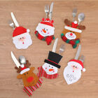 Внешний вид - Xmas Santa Claus Kitchen Table Decor Tableware Holder Pocket Dinner Cutlery Bag