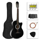 "NEW 38"" Acoustic Folk 6 String Guitar Gift for Beginner Stud"