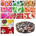 "Round Box Shape Cover 2""Thick*Modern Cotton Canvas Chair Seat Cushion Case *AL0"