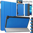 """Leather Hard Shell Smart Case Cover For Huawei MediaPad T3 10 (9.6"""") 8"""" 7"""" Inch"""