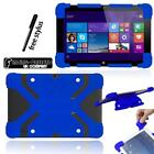 Shockproof Silicone Stand Cover Case For Various Linx 10 inch Tablet + Stylus