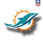 Miami Dolphins NFL Football Color Logo Sports Decal Sticker  Free Shipping on eBay