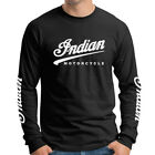 Indian Motorcycles Vintage Bike Classic Triumph Long Sleeve T-Shirt IND-0012LS $33.99 AUD on eBay