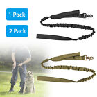 K9 Dog Leash Police Tactical Training Elastic Bungee Military Canine w/ Handle