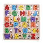 Alphabet/ Number Puzzle Kid Learning Wooden ABC Letters Preschool Educational W