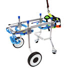 XXS-L Dog Cat Cart Pet Wheelchair for Handicapped Hind Legs / Doggie /