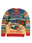 Ugly Christmas Sweater Plus Size Women's Hangin Loose Light Up Sweatshirt