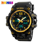 Men's Big Face Army Digital Analog Military Waterproof Sports Quartz Wrist Watch image