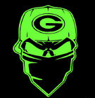 Green Bay Packers SKULL CAP VINYL Decals Sticker  BUY 2 GET 1 FREE AUTOMATICALLY $19.99 USD on eBay