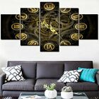 5 HD Picture Clock Steampunk Poster Painting Print On Canvas Wall Art Home Decor