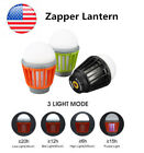 Enkeeo Waterproof Mosquito Zapper Lantern 3 Light Modes 2000 mAh Rechargeable
